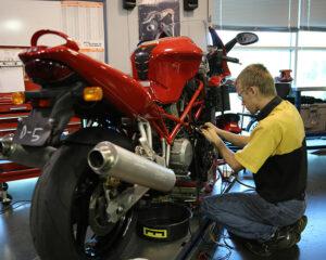 Curso de Mantenimiento de Motocicletas