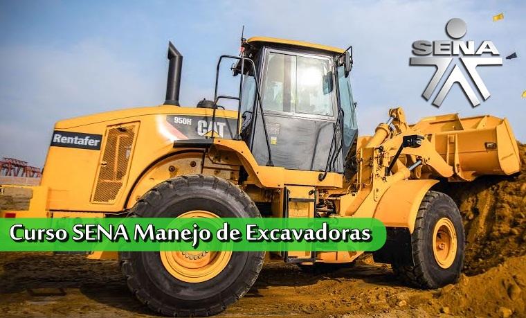 ≫Curso SENA Manejo de Excavadoras ¡Incríbete ya!