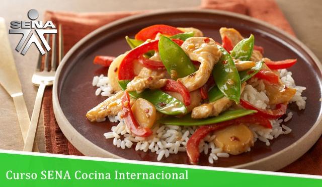 Curso SENA Cocina Internacional