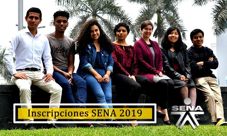 Inscripciones SENA 2019