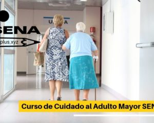 Curso de Cuidado al Adulto Mayor SENA