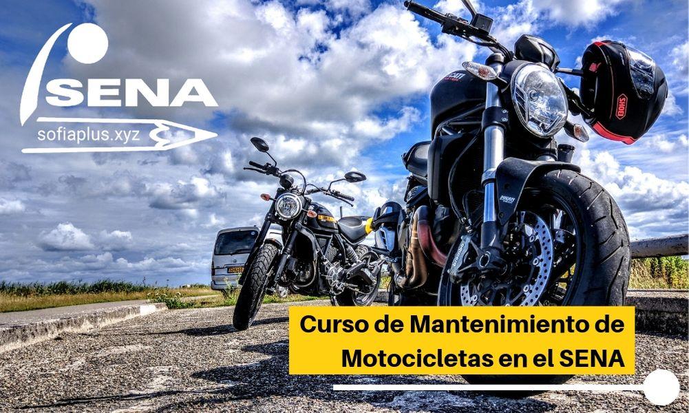 ≫Curso de Mantenimiento de Motocicletas en el SENA ¡Inscríbete ahora!