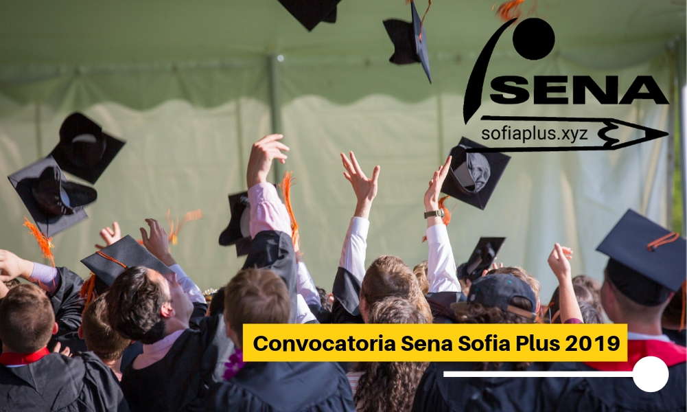 ▷ Convocatoria Sena Sofia Plus 2020
