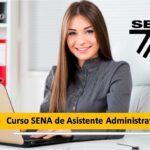Curso SENA de Asistente Administrativo