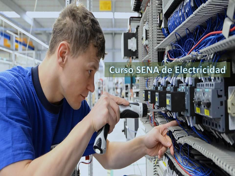 ≫Curso SENA de Electricidad ¡Inscripciones abiertas!