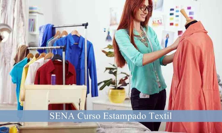 ≫SENA Curso Estampado Textil ¡Realiza tu inscripción!