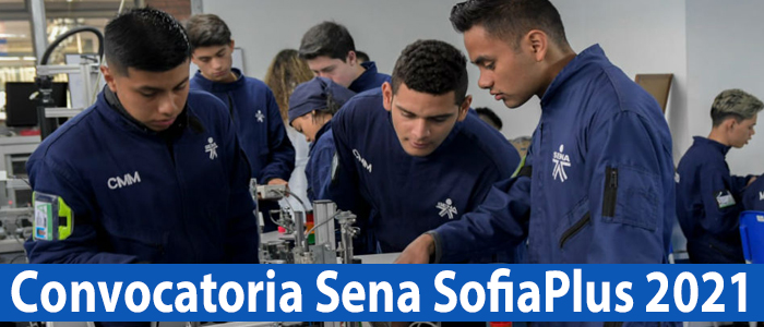▷ Convocatoria Sena Sofia Plus 2021
